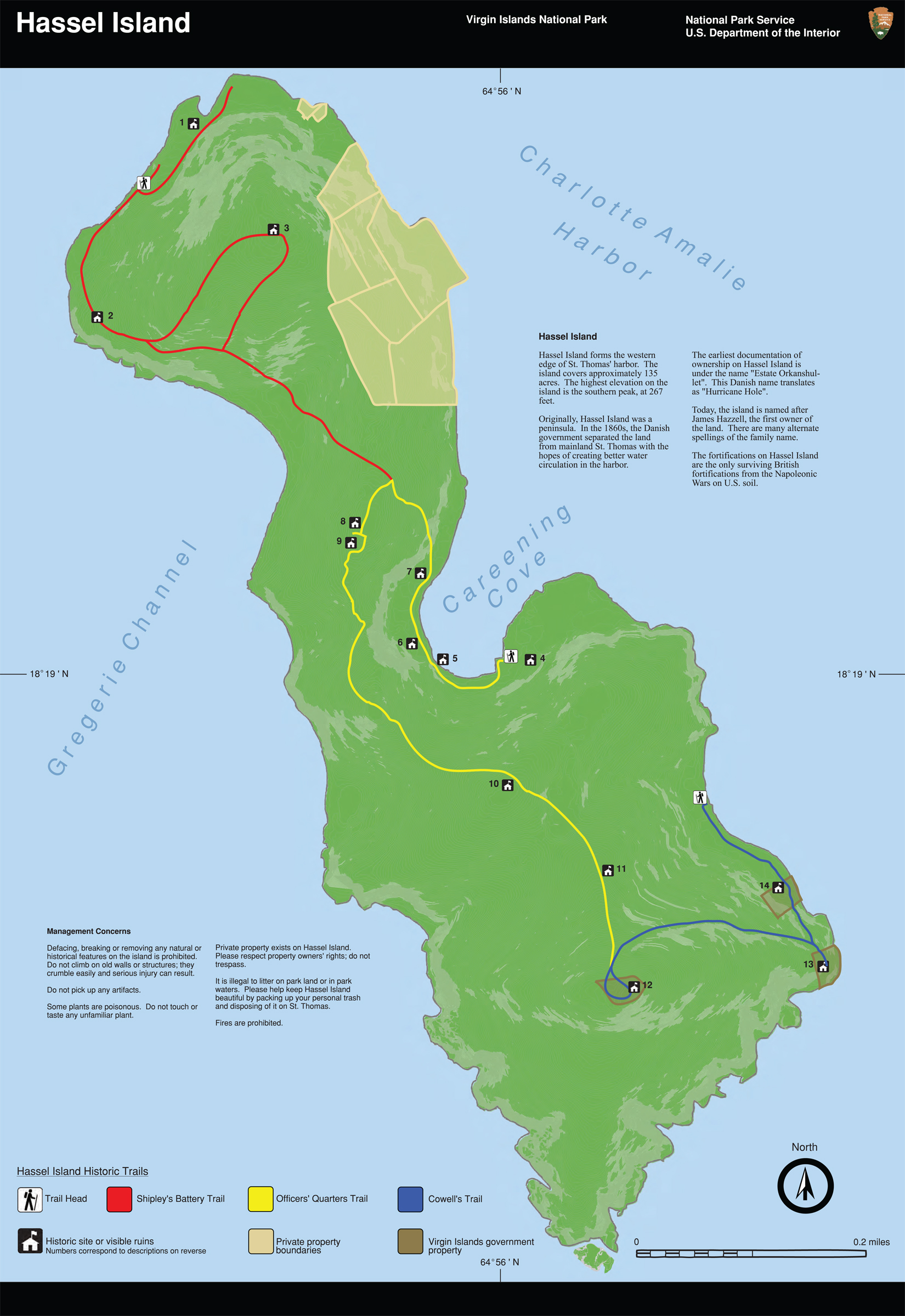 Study the Trail Map