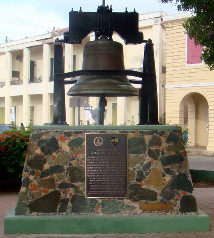 Jamestown Plaque in Emancipation Garden, Downtown Charlotte Amalie, St. Thomas