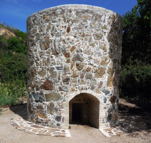 Lime Kiln after restoration